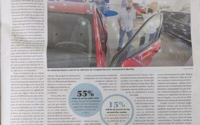 El Diario Información de Alicante /Elche/Baix Vinalopó/Vega Baja, contacta con Jorge Sánchez (gerente de Cimotor, Citroën Crevillente) para conocer la actualidad en el sector automovilístico.